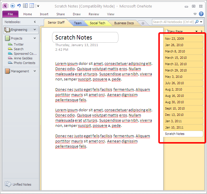 Why Microsoft OneNote kicks so much note taking ass! – mkaz blog